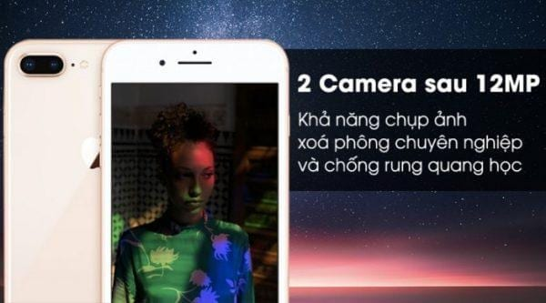 iPhone 8 plus quốc tế zin all đẹp 99%