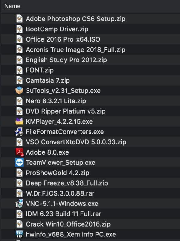 Cài windows cho Macbook