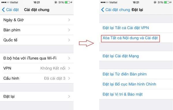 Cách dùng iCloud Backup để chuyển dữ liệu iPhone/iPad