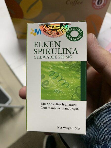 [Chính hãng] Tảo xoắn Elken Spirulina 100% hữu cơ từ Nhật Bản