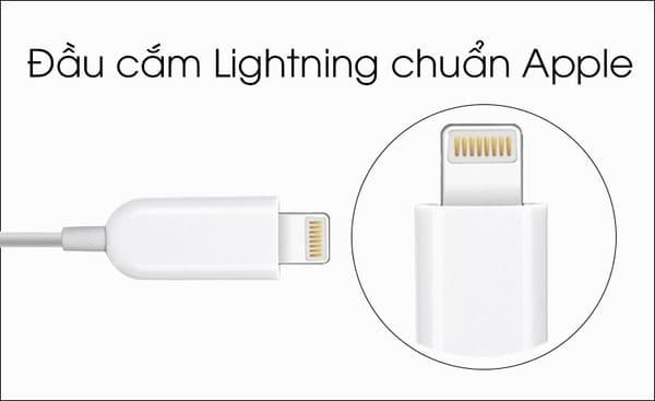 Tai nghe lightning iphone chính hãng