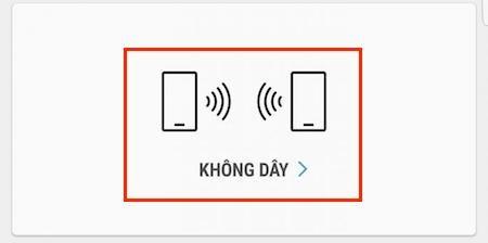 cách chuyển dữ liệu điện thoại không cần máy tính