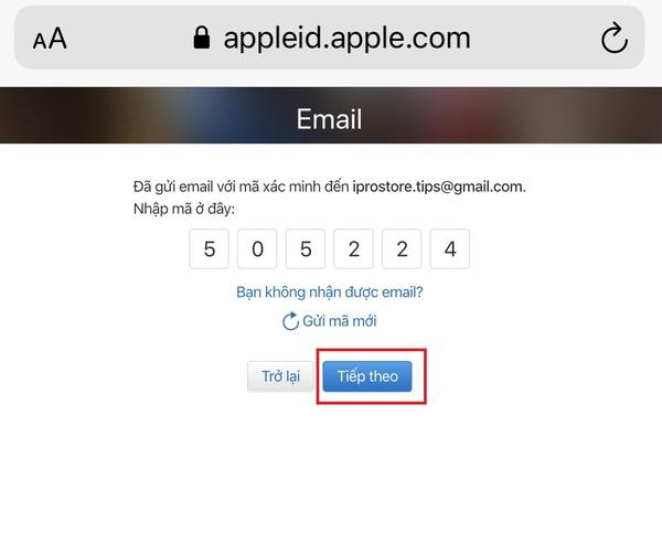 Cách tạo apple id miễn phí
